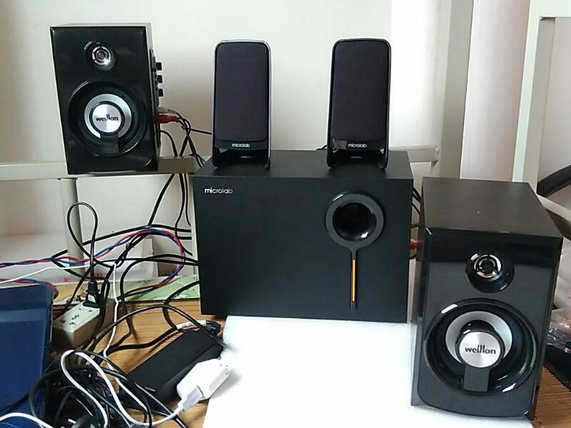 【全新电路设计的麦博m200增强版(11)】麦博m-200音箱