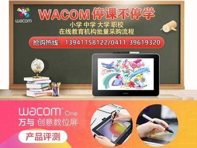 3月现货热销Wacom One DTC133特惠3199
