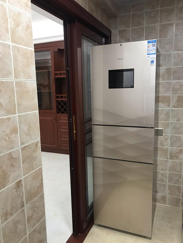 冰箱收到了但还没开始...