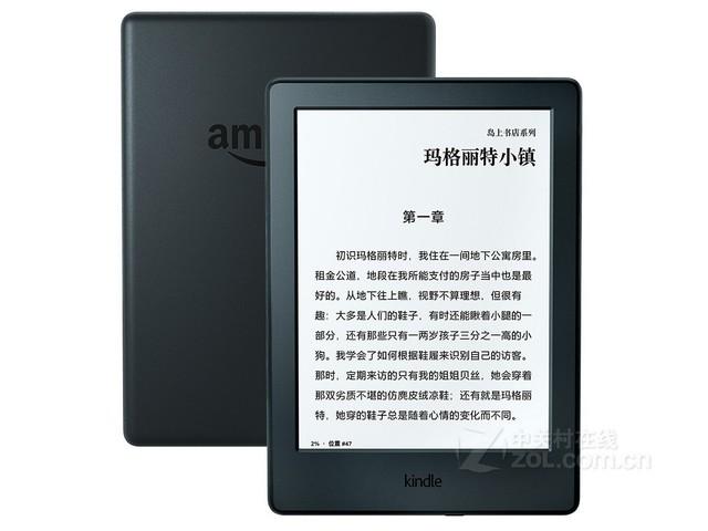 Kindle入门版促销 558元再送50元书卡