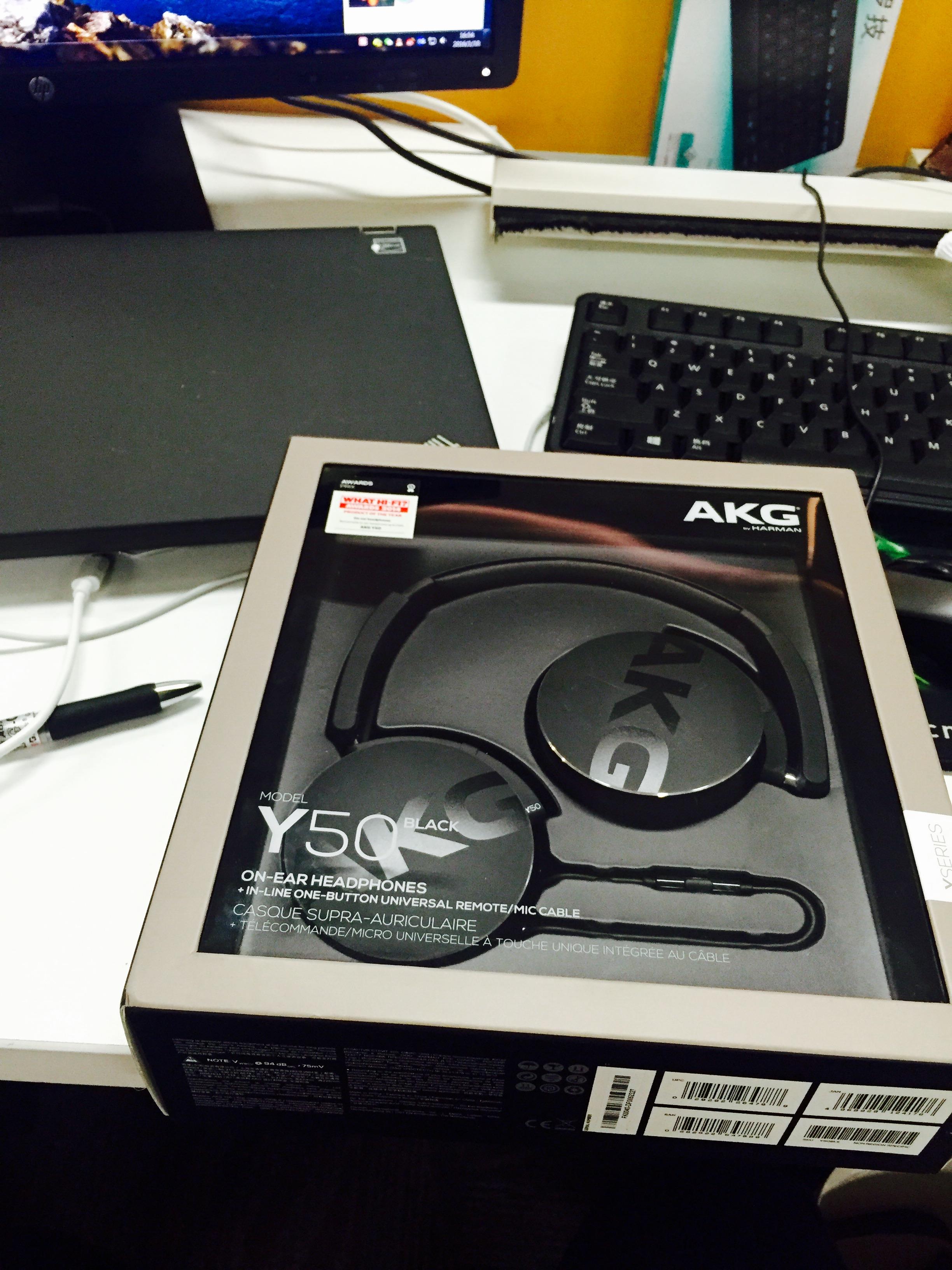 外观与音质兼得,Y50能充分体现AKG品牌的魅力