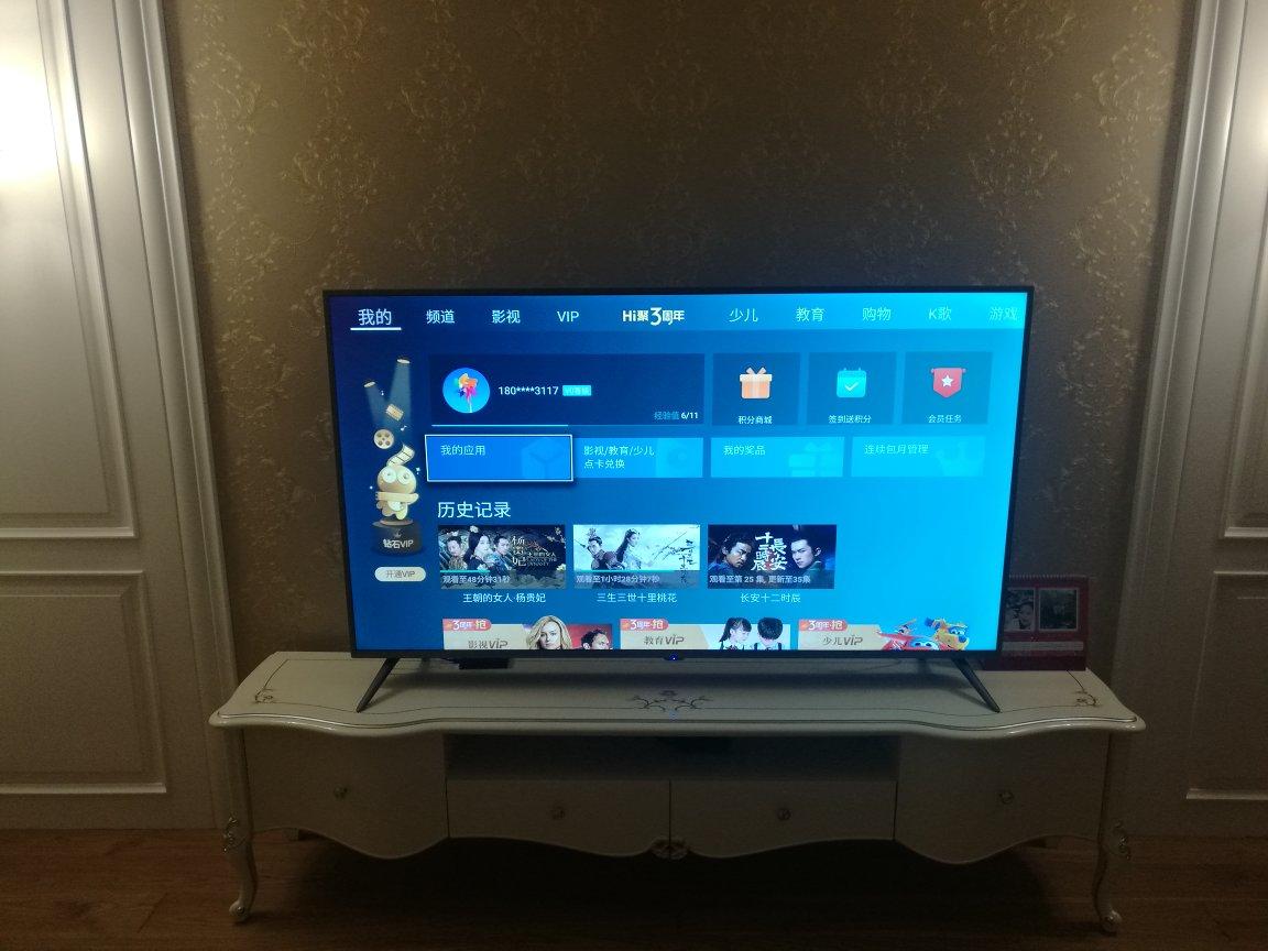 海信电视真的很不错,...