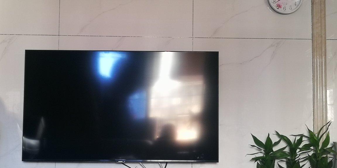 电视机外观很大气,大...