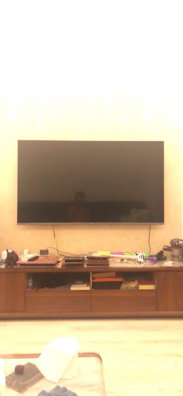小米的电视机收到了,...