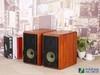 M1A的箱体全部使用昂贵的实木原材打造,经由高密度原木制造而成的箱体具有低箱体谐振特性,能大幅提升声音的品质。箱体前障板覆盖了真皮质感的柔性材料,皮纹质感与原木箱体相得益彰,令整套音响散发出与众不同的奢华自然之美。