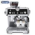 【专享购】德龙(Delonghi)咖啡机 半自动 感应研磨 智能压粉 19巴泵压萃取 实时控温 手动卡布奇诺奶泡系统 EC9335.M
