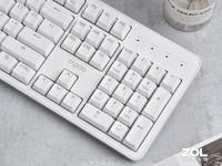 雷柏MT710办公机械键盘热销 简约好用