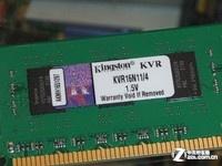 全国包邮 金士顿4GB DDR3 1600售165元