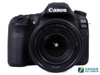 搭载18-135mm镜头 佳能单反相机EOS 80D
