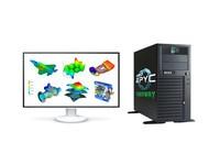AMD EPYC 3.9高主频/256M高缓存工作站