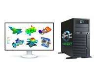 AMD EPYC 7F52 双路3.9G高主频工作站