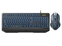 雷柏V120S有线背光游戏键鼠套装售129元