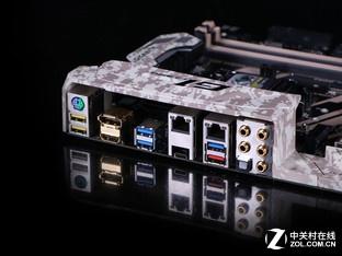 迷彩外观支持新E3 技嘉X170新品评测