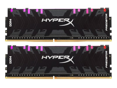 金士顿HyperX Predator 16GB DDR4 3200 RGB灯条(套装)