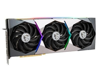 微星GeForce RTX 3080 Ti SUPRIM X 12G