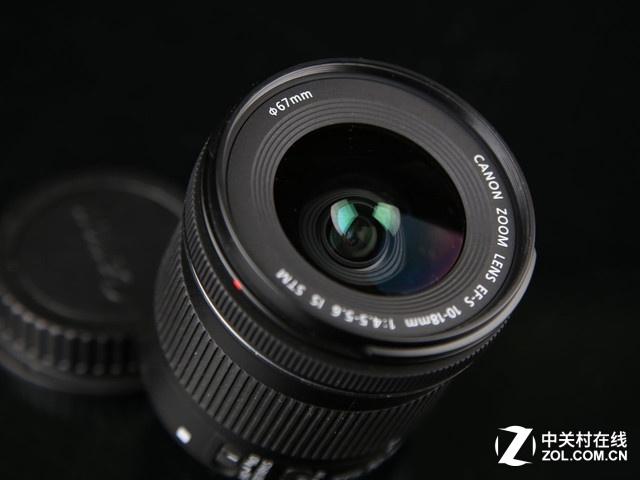 超广角变焦镜头 佳能10-18mm IS STM