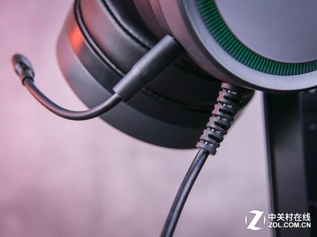 雷柏VH530游戏耳机评测:RGB利器