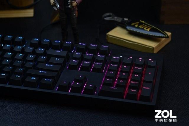 桌面太单调?雷柏V808RGB炫彩背光键盘考虑下