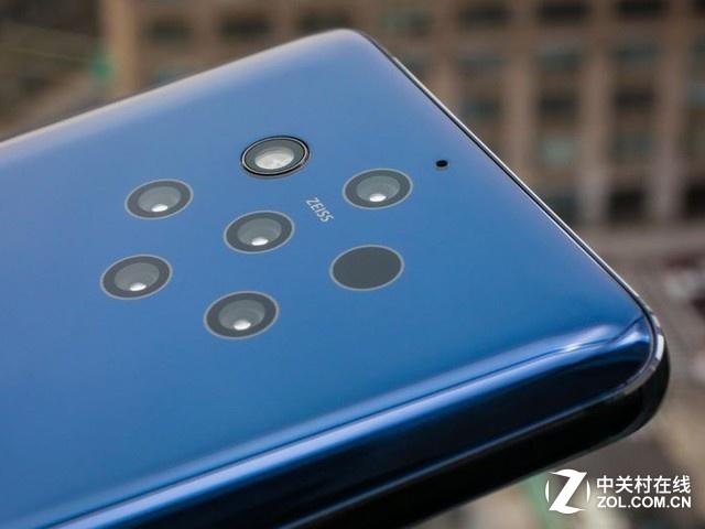 首款五摄智能手机 诺基亚9PureView国内正式发布