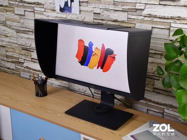 三面窄边框 明基SW270C显示器热销