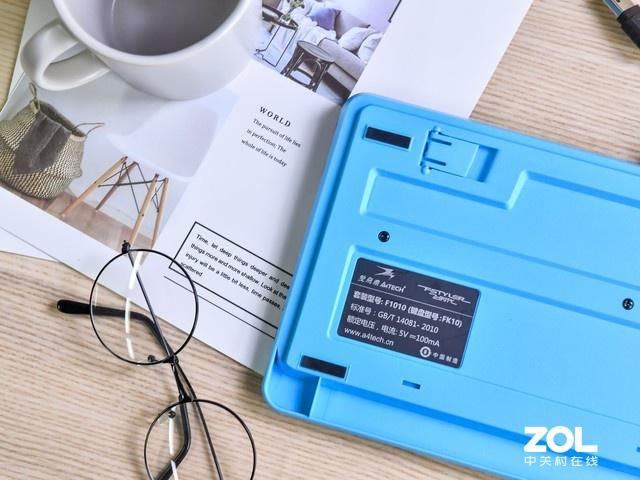 无线更省心 双飞燕FG1010键鼠套装体验