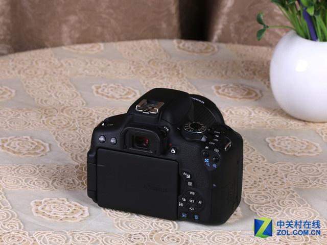 搭载18-135mm镜头 佳能750D套机5999元