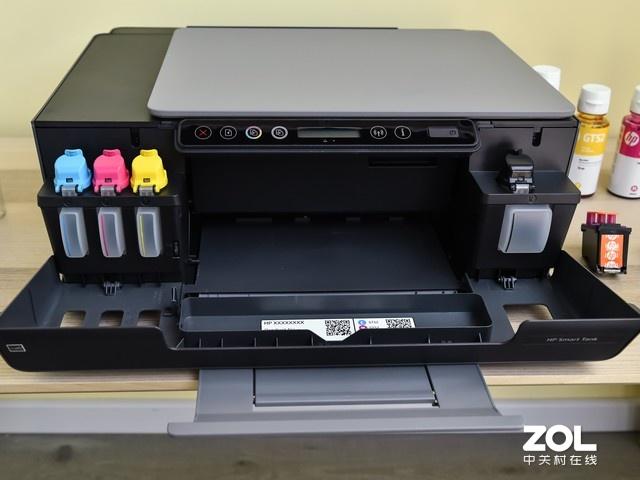 打印机墨盒怎么装配图4