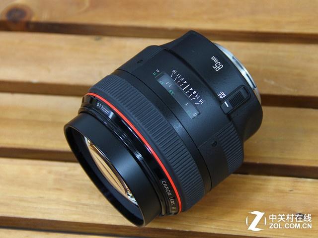 大光圈高素质 佳能85mm f1.2L II镜头