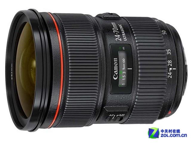 大三元之一 佳能24-70mm F2.8镜头热销
