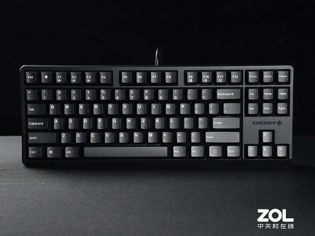 CHERRY G80-3000 S TKL机械键盘评测 经典手感新面容