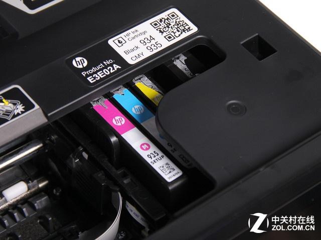 打印机墨盒怎么装配图3