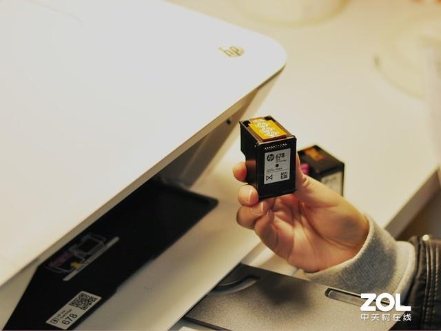 打印机墨盒怎么装配图2