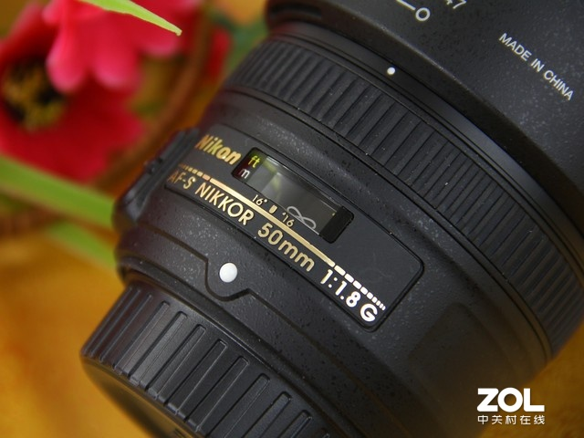 尼康50mm f1.8G 刻度