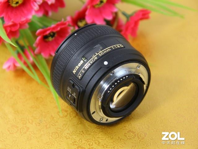 尼康50mm f1.8G 外观
