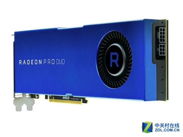 AMD RadeonPro Duo 32G显卡售价6000元