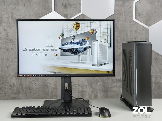 微星P100X主机体验设计师的快感