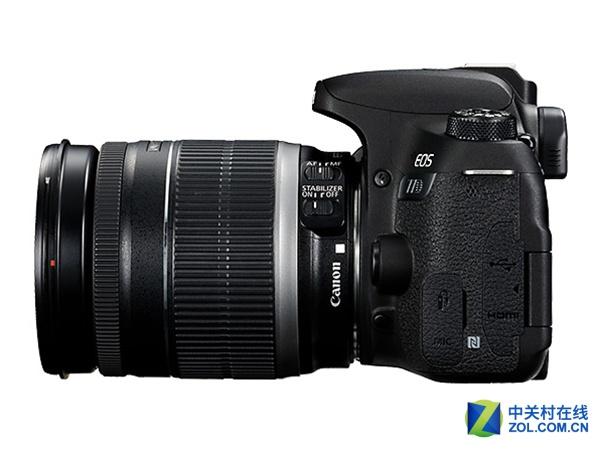 搭载18-200mm镜头 佳能77D套机7299元