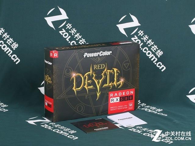 信仰高频 迪兰DEVIL RX 580 8G京东热销