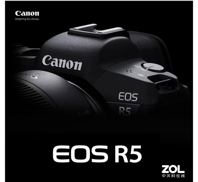 佳能全幅微单EOS R5 预售价格25999元