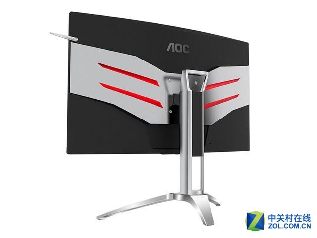 27吋曲面屏 AOC爱攻AG272QCX显示器秒杀中