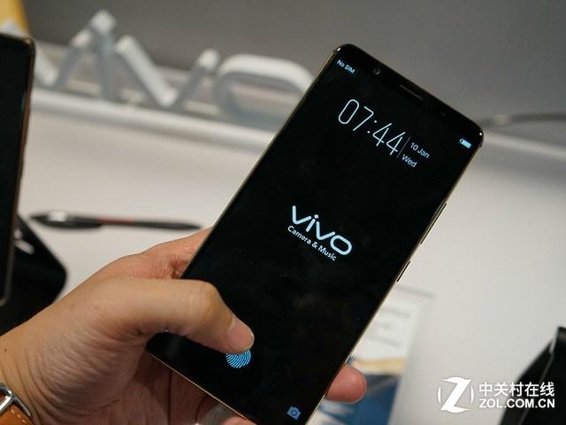首款屏下指纹识别手机本月开售 3698元