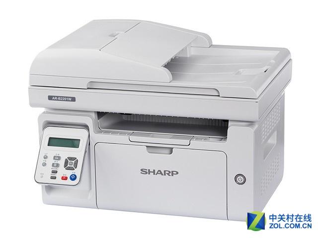 高效无线打印 夏普B2201W激光打印机