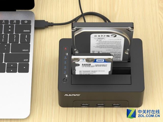 用了麦沃K3082H硬盘拷贝机!海量数据再也不叫事