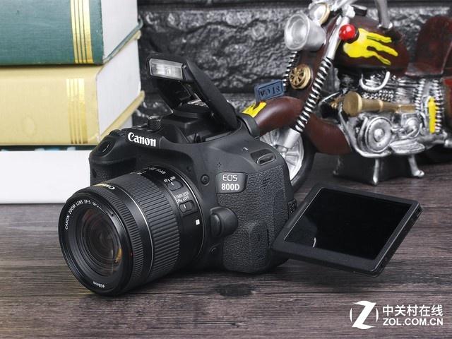 跌破五千大关 佳能单反相机EOS 800D
