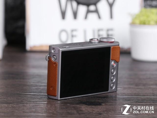 卡片机高画质 佳能G9X II搭载大传感器