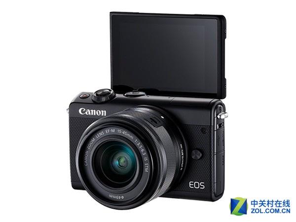 包含15-45mm镜头 佳能EOS M100京东3199