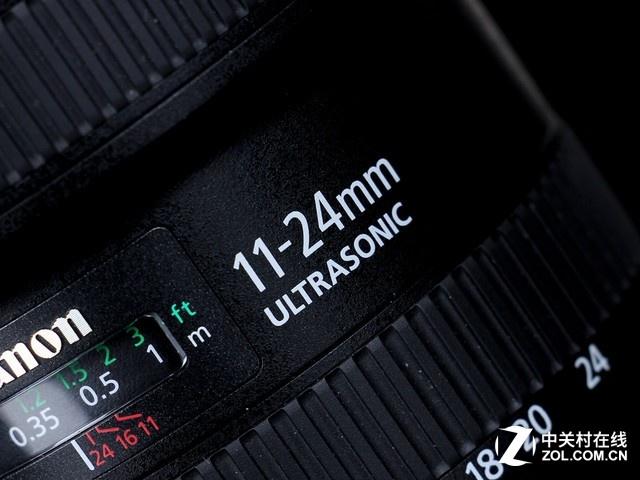 成像出色 超广角变焦镜头佳能11-24mm