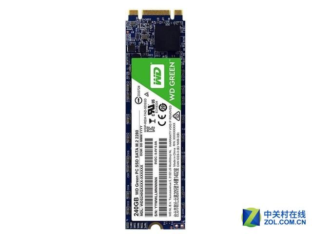固态硬盘 西部数据M.2 2280广东售225元