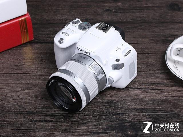 白色系单反相机 佳能EOS 200D京东4199