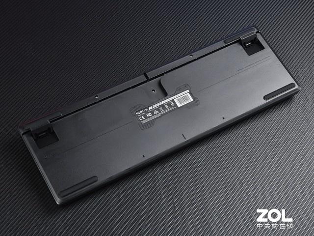 雷柏V808背光游戏机械键盘评测 光效好选择